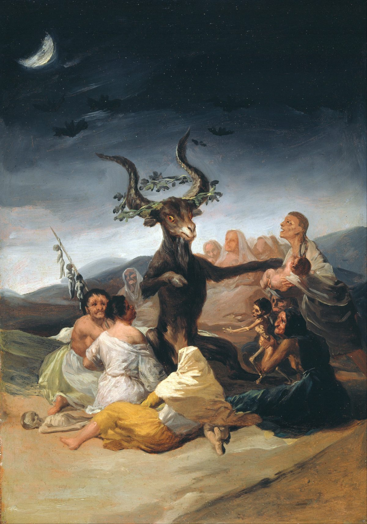 Francisco De Goya Y Lucientes  Witches Sabbath  Google Art Project
